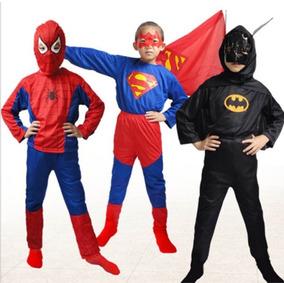 Disfraz Hombre Araña Batman Superman