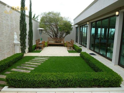 Imagem 1 de 30 de Casa De Ocasião, 1000 M² Por R$ 2.950.000 - Condomínio Village Castelo - Itu/sp - Ca0117