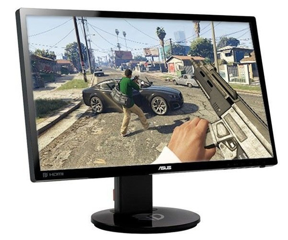 Monitor Gamer 3d Asus Vg248 144mhz - Estado De Novo