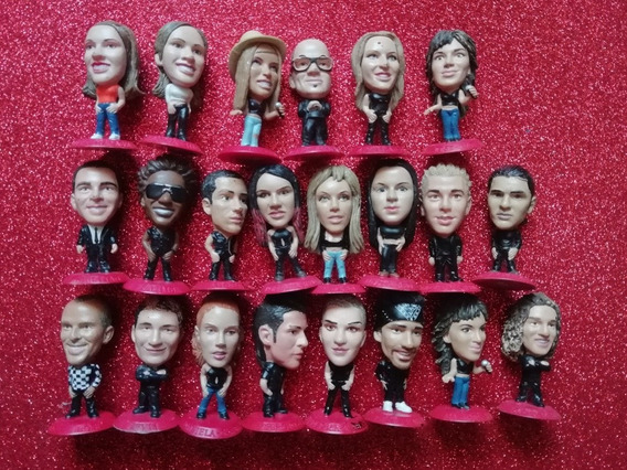 Cabezónicos Coca-cola Lote 22 Figuras