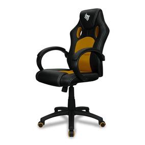 Cadeira Gamer Pichau Gaming Danzig Amarela Reclinável