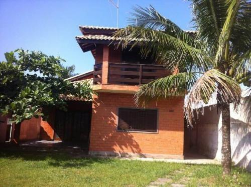 Casa Lado Praia Com 3 Quartos Em Itanhaém/sp Ca077-pc