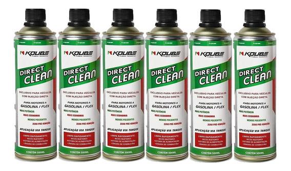 Kit 6 Direct Clean Injeção Direta Koube