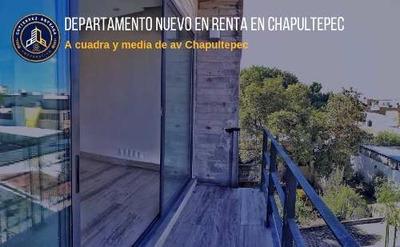 Departamento Nuevo En Renta En Chapu