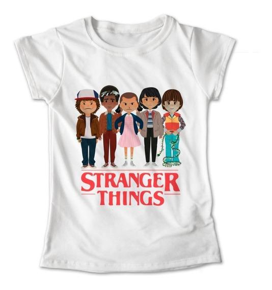 Blusa Stranger Things Colores Playera Estampado St 119