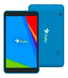 Tablet Stylos Taris Azul 16gb 2gb Ram Android 9.0 Sttta85 /v