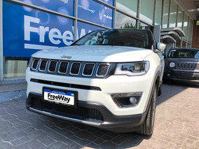 Jeep Compass 2.4 Limited 2018 0km Blanco 5 Puertas