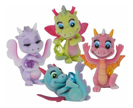 Safiras Set Dragones Alados Figuras Coleccionables Educando