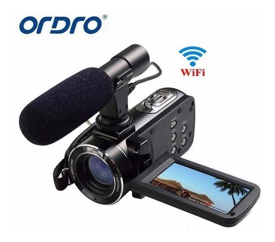 Câmeradigital,ordro,com Entrada Para Microfone Externo