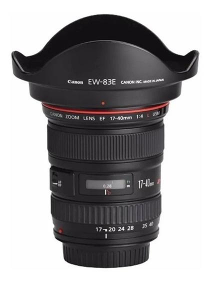 Objetiva Canon 17-40mm Ii F4 L Ultrasonic / Ef 17-40 F4 L