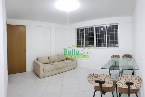Ótimo Apartamento Com 2 Dormitórios Para Alugar, 42 M² Por R$ 1.450/mês - Campo Grande - Recife/pe - Ap10164