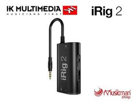 Ik Multimedia Irig 2 Interfaz De Guitarra iPhone, iPad Y Mac