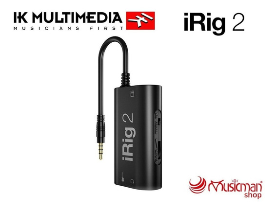 Ik Multimedia Irig 2 Interfaz De Guitarra iPhone, iPad Y Mac