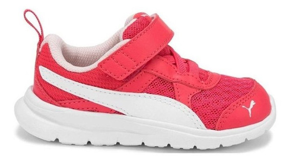 Zapatillas Puma Flex Essential Infant Rosa - Corner Deportes