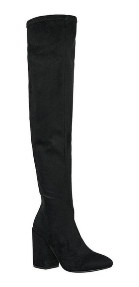 Bota Capa De Ozono Mujer Negro Tipo Ante 381502 1