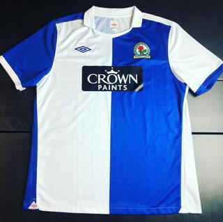 Camisa Blackburn Rovers 2010-2011 Home Tam Gg (78x59) O´timo