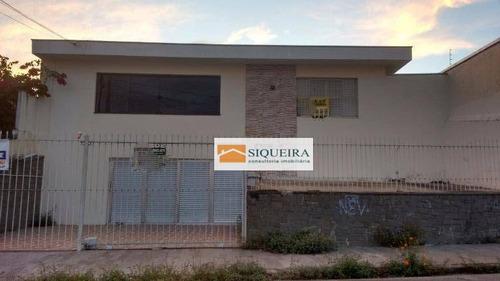 Casa Residencial À Venda, Jardim Santa Rosália, Sorocaba. - Ca0637