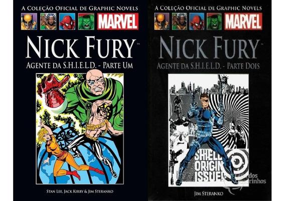 Encadernado Nick Fury Shield Volume 1 E 2 Parte 1 E 2 Salvat