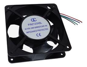 Microventilador Ventoinha 120x120x38 110 220v Kit 5 Unid M F