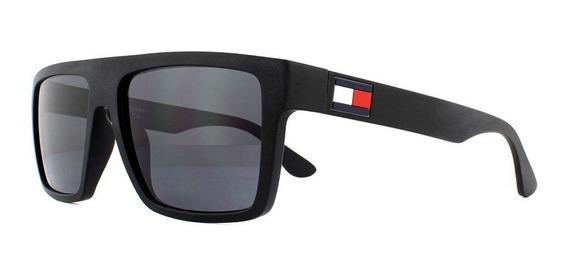 Óculos De Sol Masculino Tommy Hilfiger Preto