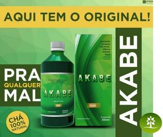 Akabe Chá - 100% Natural - Redutor De Medidas