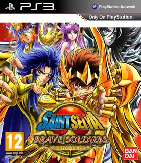 Saint Seiya Brave Soldiers Ps3 Juego +dlc Shion De Aries Oro