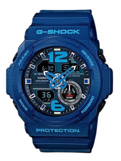 Relógio Casio G-shock Ga-310 2ad 5 Alarmes H Mundial Wr200 A
