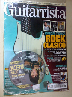 Rock Clasico Guitarrista 158 Jeff Beck Jimmy Page Jetro Tull