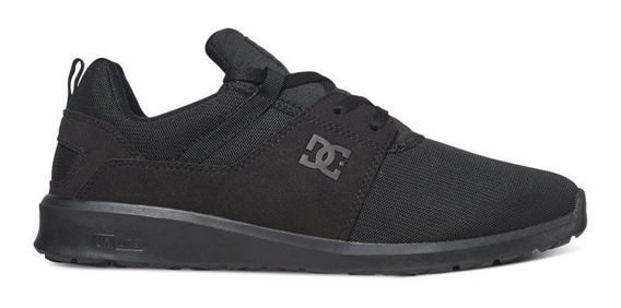 Tênis Dc Shoes Heathrow Black Black Original Frete Gratis