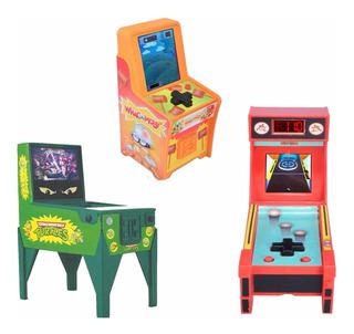 Boardwalk Arcade Whack A Mole, Skeeball, Y Pinball Mini Arca