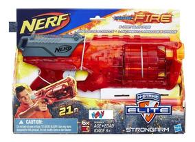 Lançador Nerf Elite Sonic Fire Strongarm - Hasbro