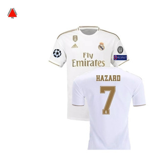 Camisa Real Madrid 2019/2020 Hazard#7 Original - P. Entrega