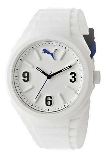 Relógio Puma Branco Unisex Gummy Pu103592002