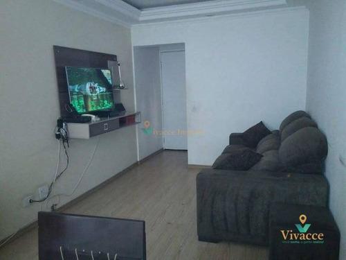 Imagem 1 de 30 de Apartamento Com 2 Dormitórios À Venda, 54 M² Por R$ 265.000,00 - Jardim Arize - São Paulo/sp - Ap3085