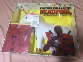 Deadpool Edição Colecionador 2 Filmes 2 Pôsteres 1 Unicórnio