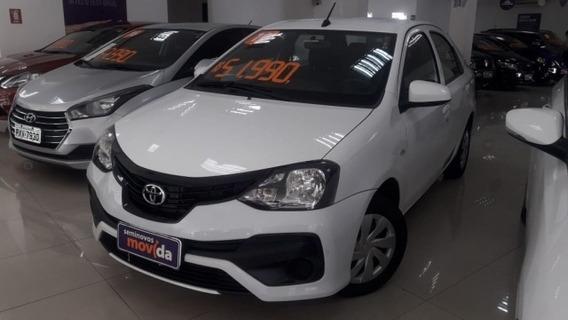 Etios 1.5 X Sedan 16v Flex 4p Automático 35226km