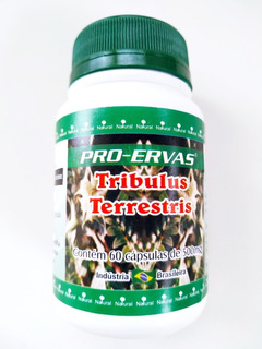 Tribulus Terrestris Kit Com 10 Unidades 500mg 60cap Promoção