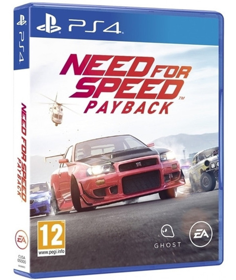 Jogo Need For Speed Payback Ps4 Disco Físico Novo Nacional