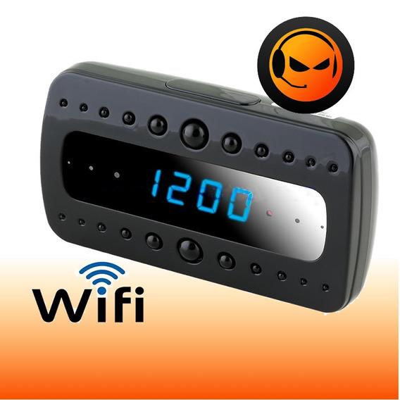 Reloj Con Camara Espia 1080p Vision Nocturna Wifi Monitoreo