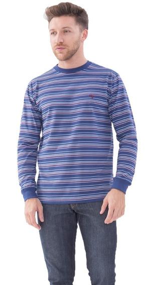 T-shirt Manga Larga Modelo Sirrah Rayada Jersey Howard.