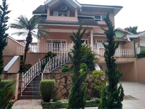 Imagem 1 de 13 de Casa Com 4 Dormitórios À Venda, 360 M² Por R$ 1.380.000,00 - São Paulo Ii - Cotia/sp - Ca1275