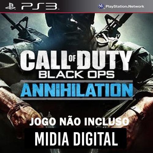 Dlc* Annihilation Call Of Duty Black Ops Cod Bo - Ps3 Psn*