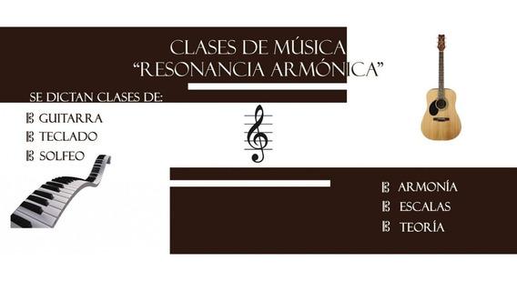Clases De Música, Curso De Guitarra, Teclado Y Canto