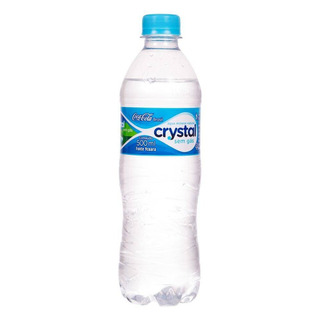 Lote C/ 50 Água Mineral Natural Crystal 500ml