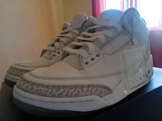 Air Jordan Retro 3 Triple White