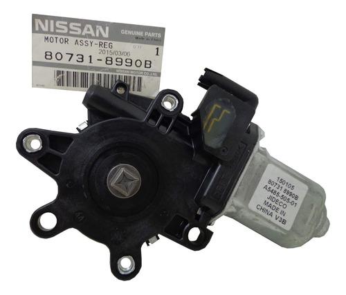 Motor Regulador Vidro Dianteiro L.e Original Nissan Frontier