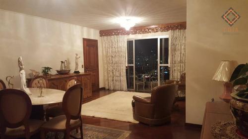 Apartamento Com 4 Dormitórios À Venda, 160 M² Por R$ 1.600.000,00 - Perdizes - São Paulo/sp - Ap44888