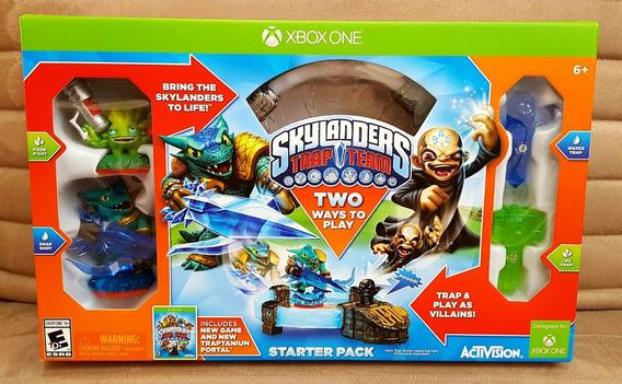 Xbox One Skylanders Trap Team Starter Pack Kit Inicial Novo