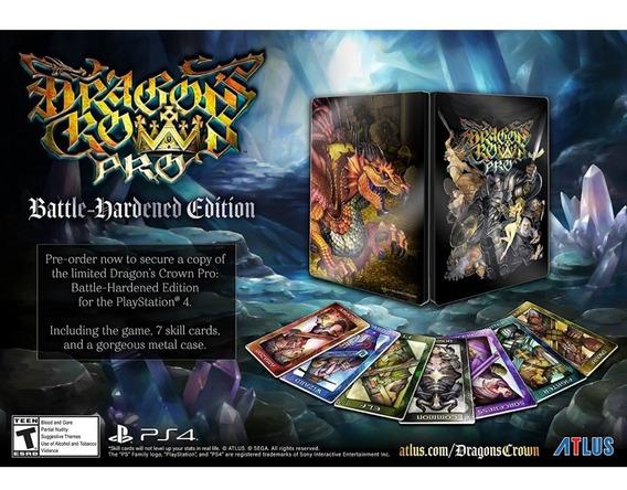 Dragons Crown Pro Battle Hardened Ps4 Mídia Física Lacrado