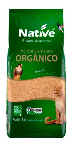 Imagem 1 de 1 de Açúcar Demerara Orgânico 1kg Native
